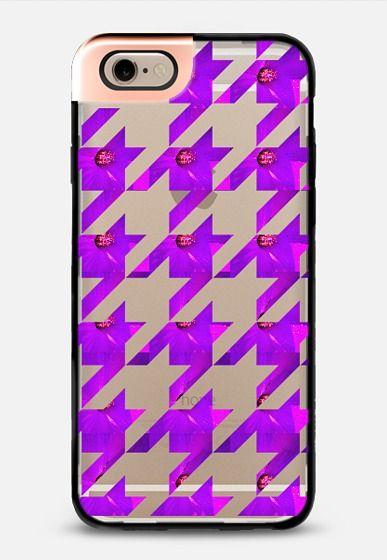 Purple flower iPhone 6 case by littlesilversparks | Casetify