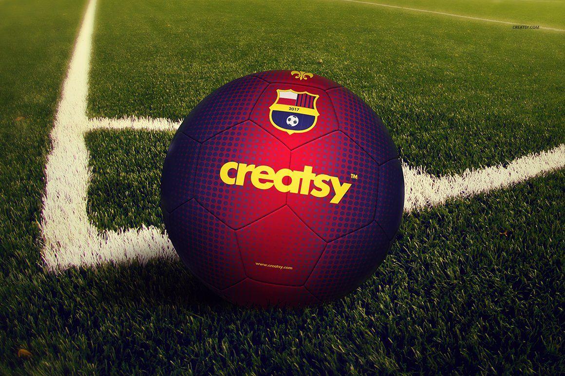 Download Soccer Ball Mockup Set