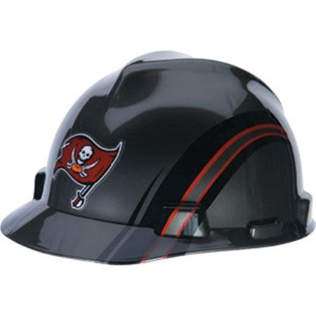 f1b712cb Tampa Bay Buccaneers Hard Hat - NFL Licensed Construction Safety ...