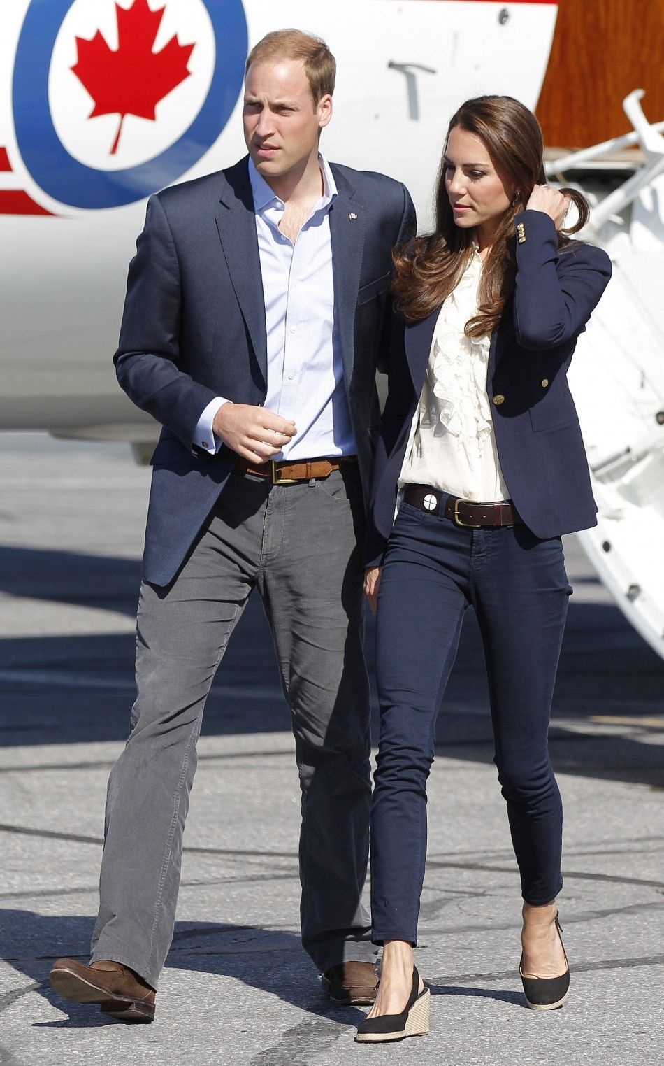 67cc70b575e July 2011 - Duke and Duchess of Cambridge make an unscheduled stop to visit  Slave Lake