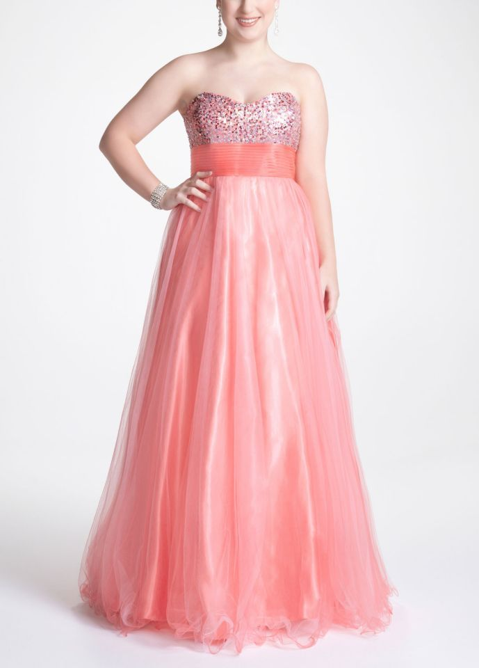 Want this prom dress from David\'s Bridal. | Prom | Pinterest