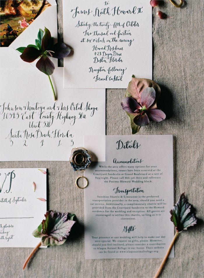 Luxe Jewel Toned Wedding Ideas