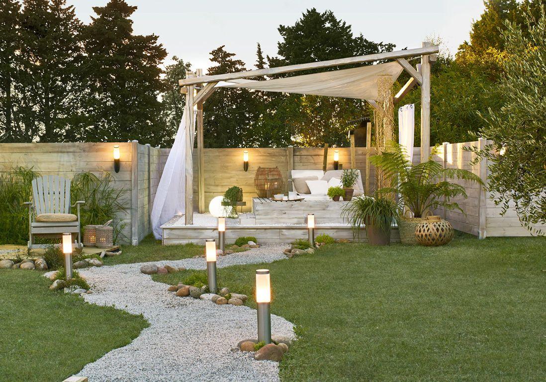 Idee Deco Petit Jardin aménagement jardin : nos idées pour un jardin gai et cosy