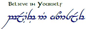 Elvish Script! Love