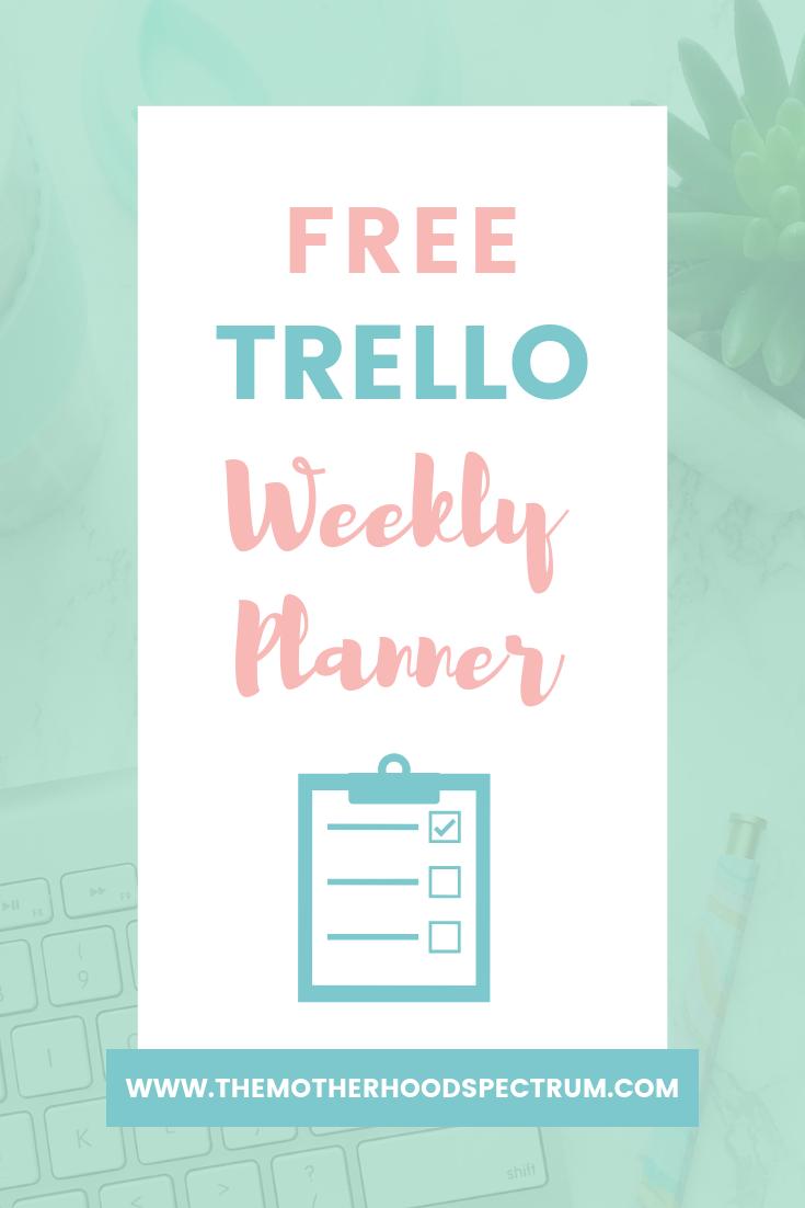 Free trello template, Organization, Productivity, Trello