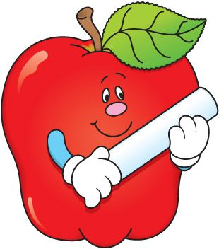 Apple back to school. Discover clipart images escuela