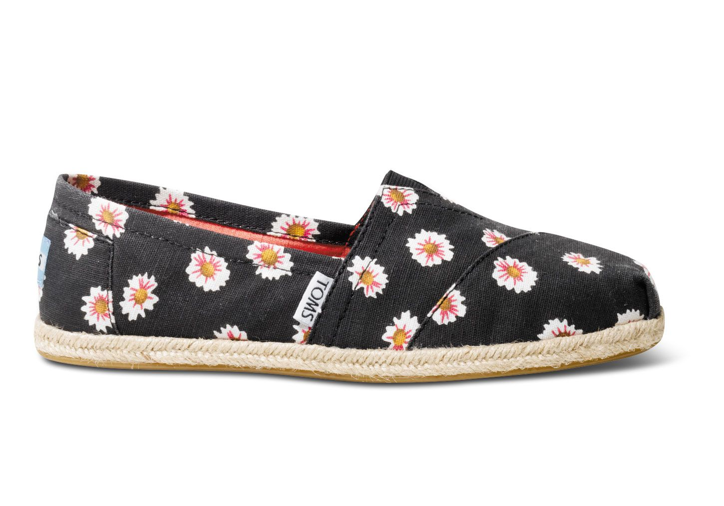 Black  Daisy Print Women's Classics.  I don't wear Tom's but I might have to purchase these!