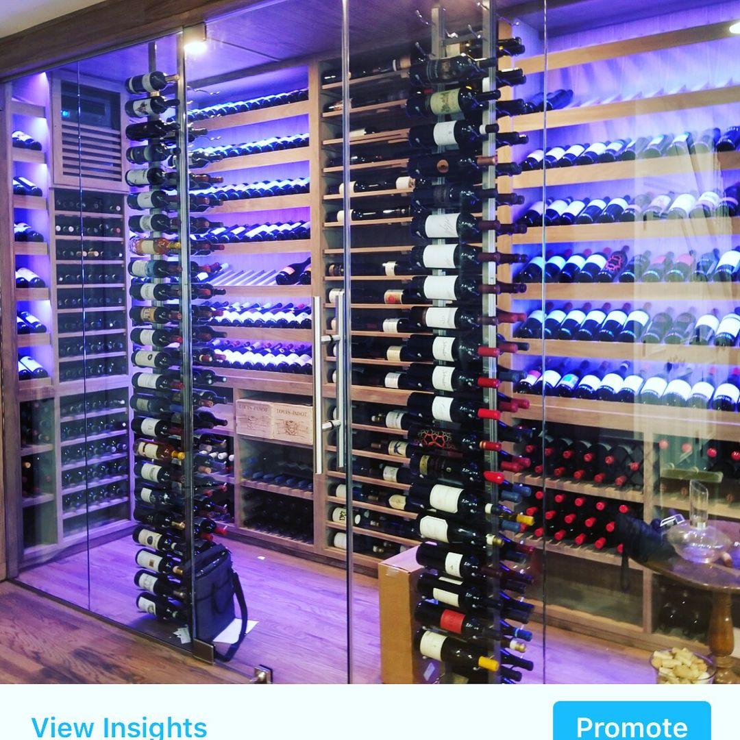 Joseph Curtis Custom Wine Cellars Modern Wine Storage Custom
