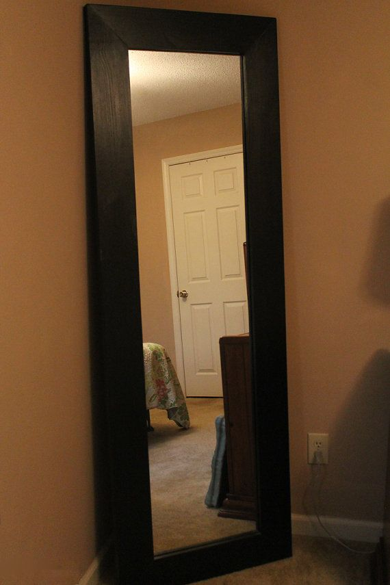 Large Floor Mirror Full Length Standing Mirror by TilnicCreations ...