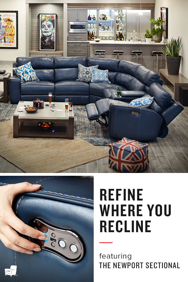 Leather Allure. Bask In Ultimate Relaxation With The