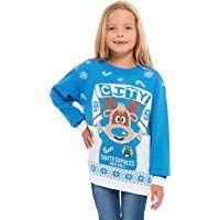 e11979ba0a0f HSA Girls Kids Boys Children Unisex Christmas Xmas Knitted Novelty ...