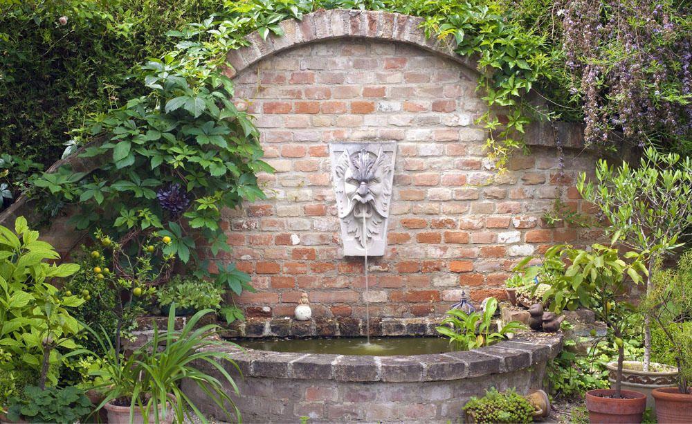 Dekorative Wandbrunnen Brunnen Garten Wasserspiel Garten Wandbrunnen