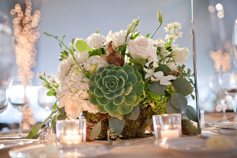 Small Bar Table Decorations Succulent