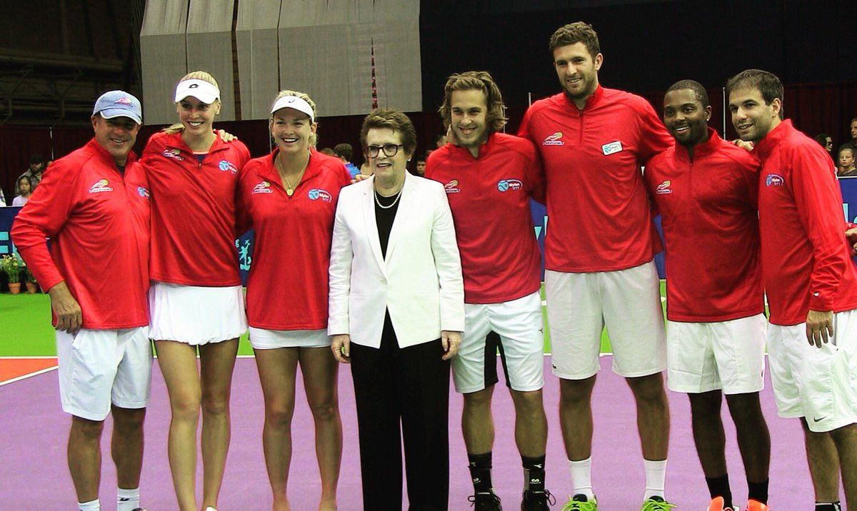 Via Fabrice Martin  · Aug 14:    Had an amazing time with the best team @PhillyFreedoms @BillieJeanKing @WorldTeamTennis !! See you all soon !!