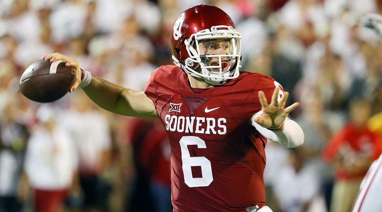 SI College Football on Twitter Baker mayfield, College