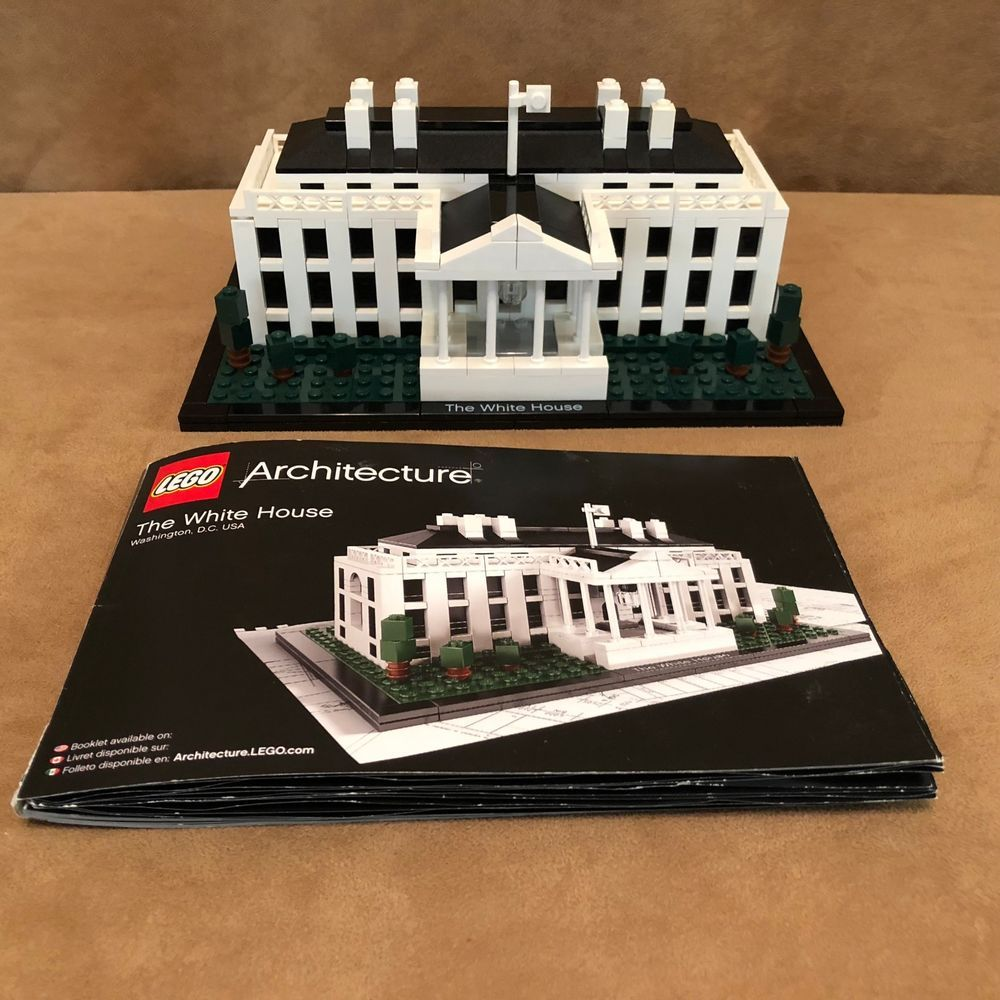 21006 LEGO Complete Architecture White House instructions