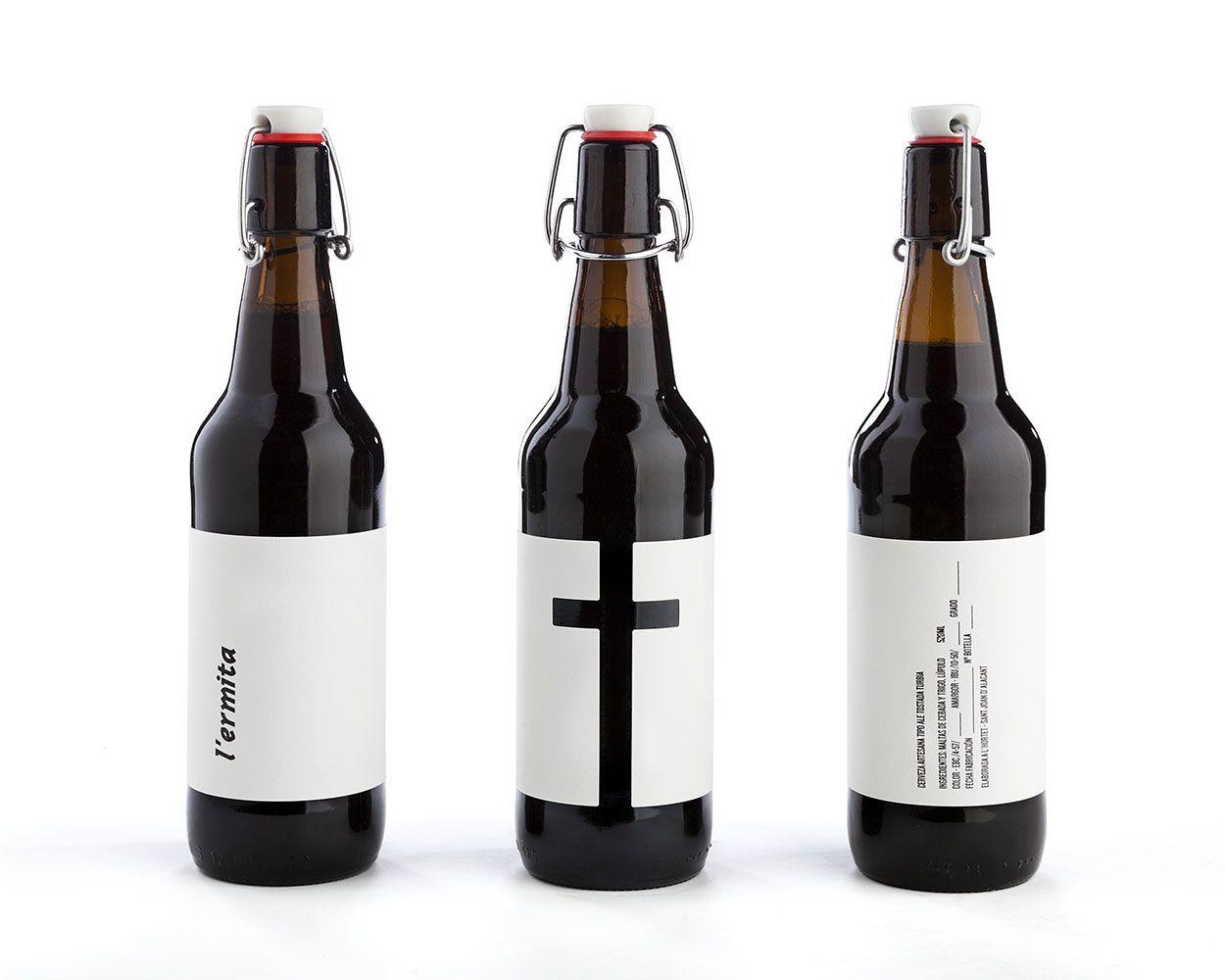 Cerveza L'ermita by Nueve