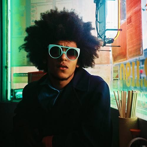 Afro cool.