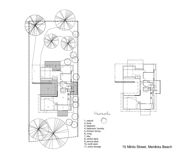 gallery of merricks beach house kennedy nolan architects 11 - Beach House Drawings