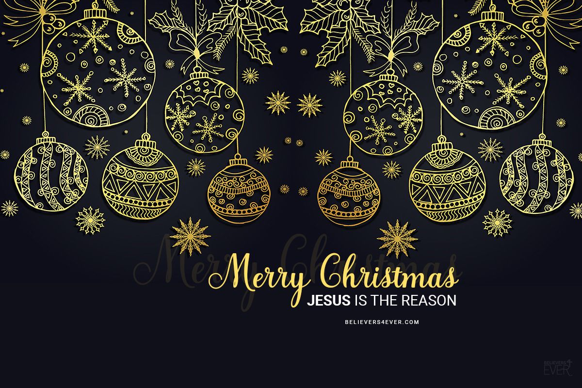Merry Christmas Jesus Is The Reason Free Christmas And New Year