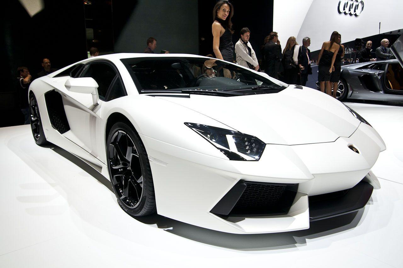 lamborghini aventador white and black - HD1280×853