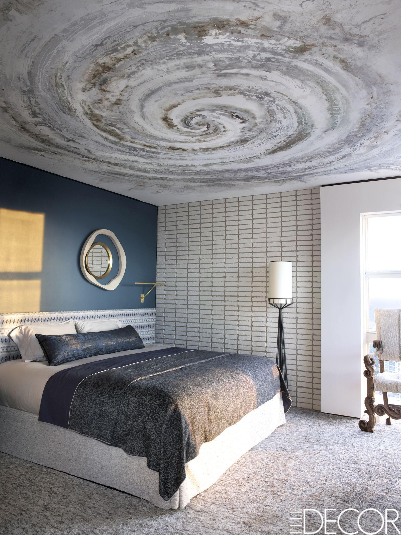 Elle decor master bedroom  House Tour A Miami Penthouse That Marries European Posh With