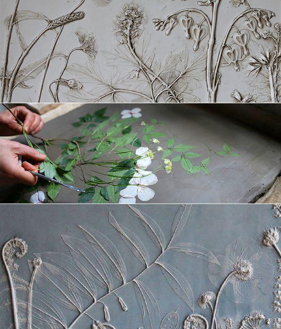Basteln-Ideen-mit-Gips---Blumen-Fossile-als-originelle-Geschenkidee ...
