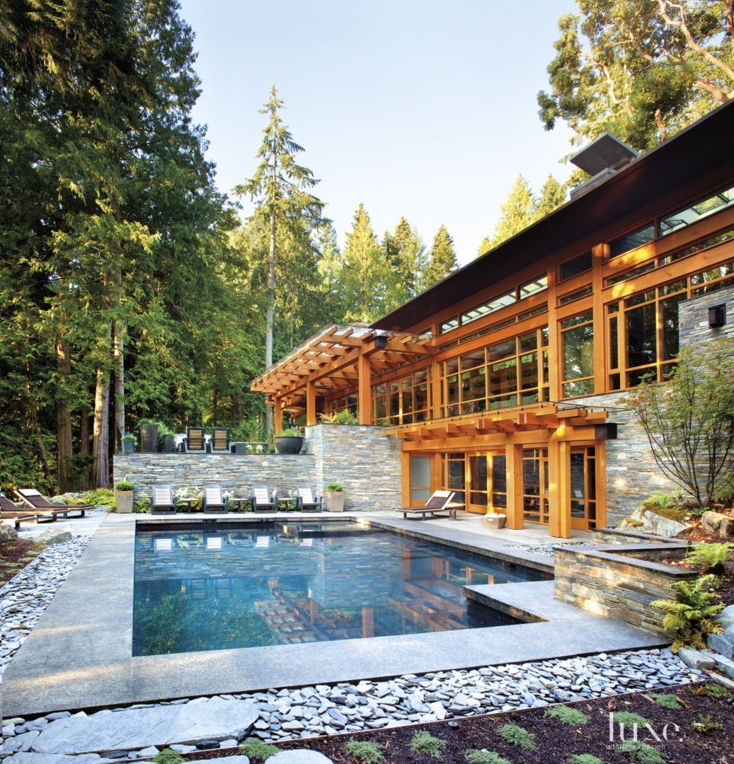 Outdoor Luxury Pool House: Pin By O&R Building On Stunning Pools