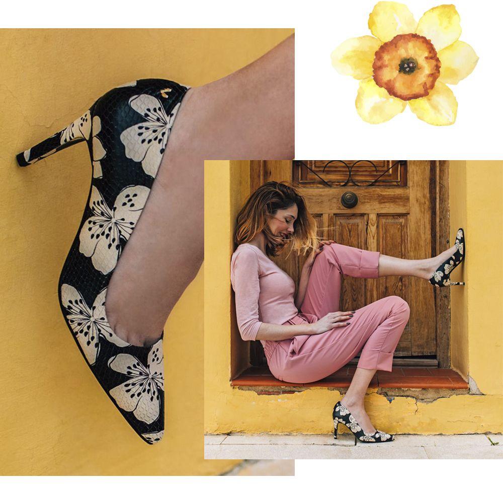 Color FloresCaracterísticas De Salón En Para Zapatos Mujer rxWCodBe