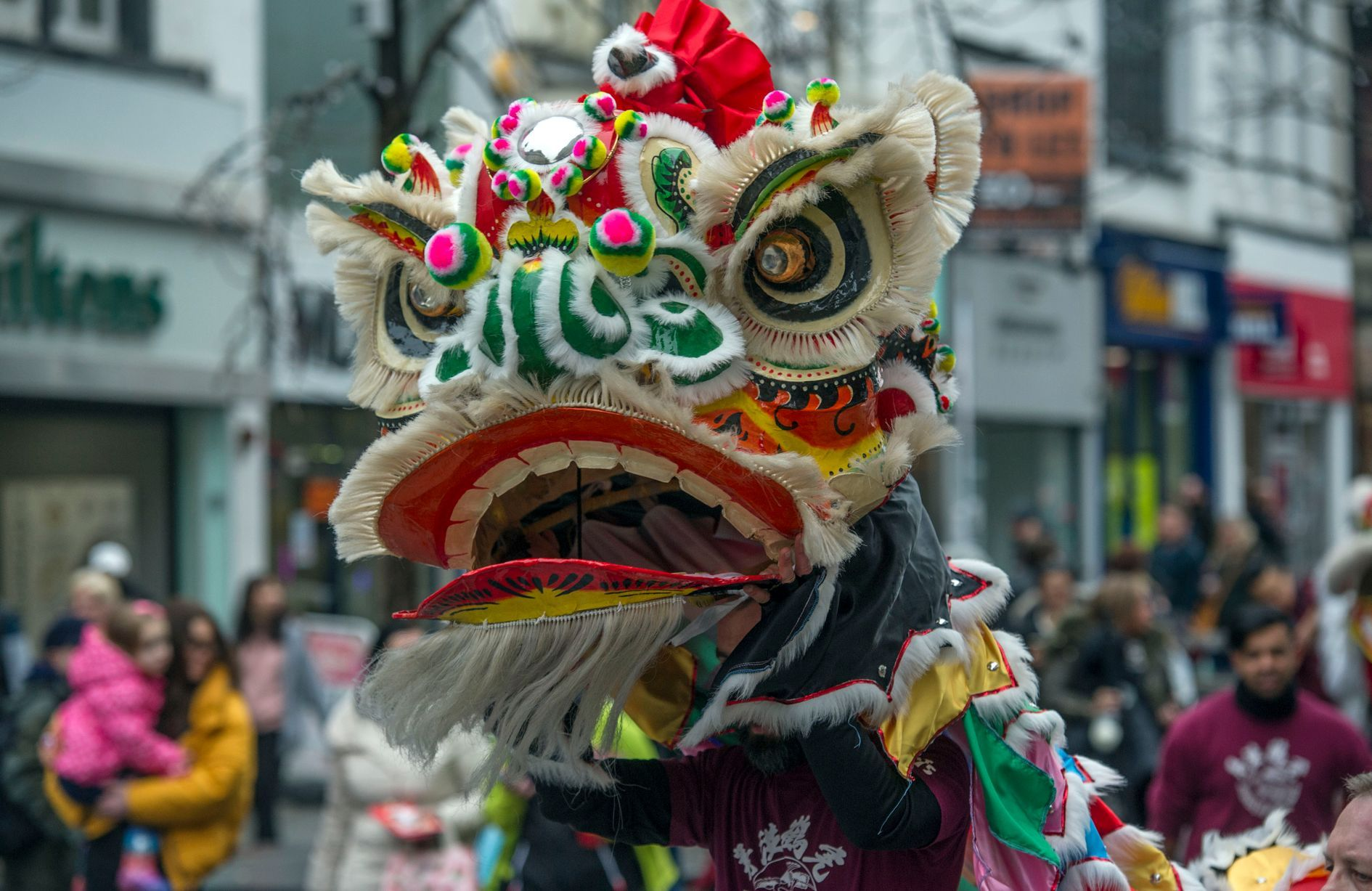 Chinatown Liverpool New Year 2018 Cultural beliefs