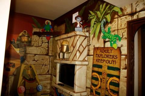 Adventure themed room at The LEGOLAND  Hotel. Adventure themed room at The LEGOLAND  Hotel   Where to Stay