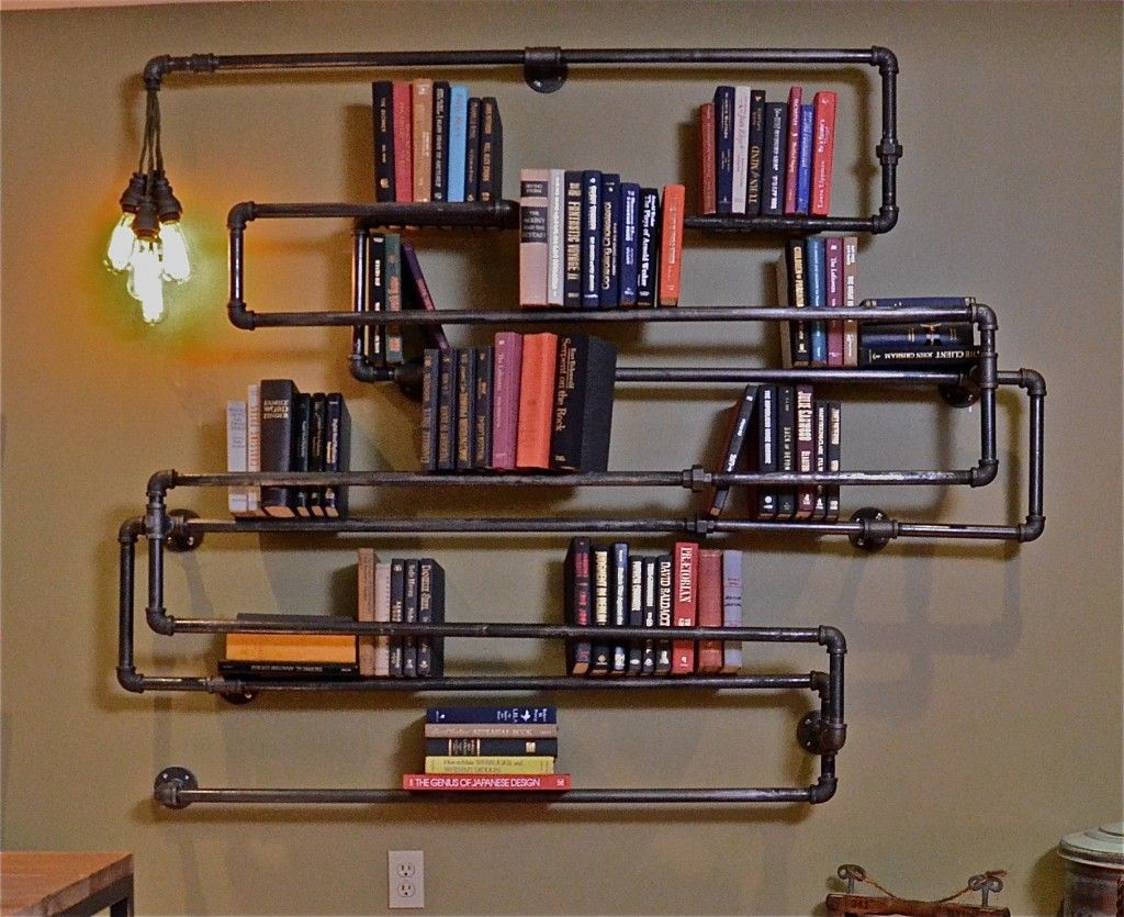 Foxy Pipe Bookcase For And