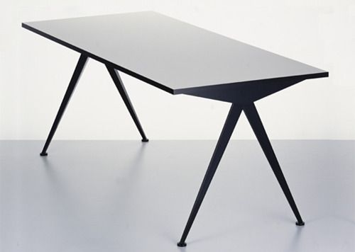 Compass Table By Jean Prouve Stol