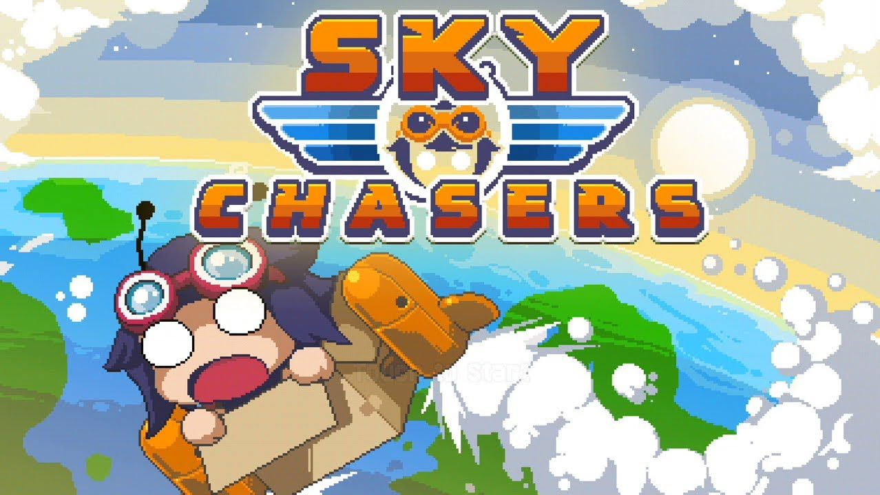 Sky Chasers Gameplay Free On iOS Pixel art games