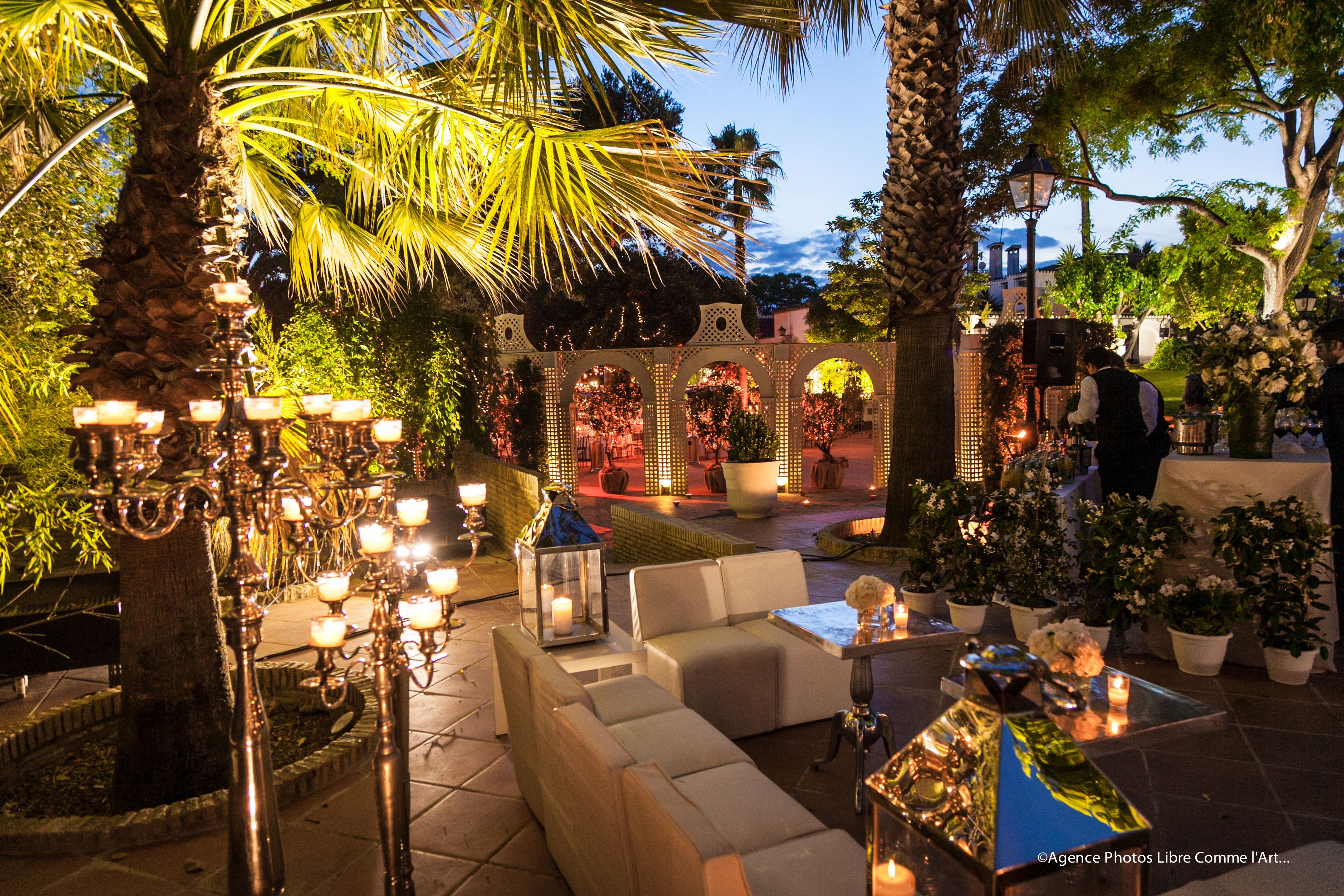 Exterior Chill Out Jardines Sevilla Chillout Eventos