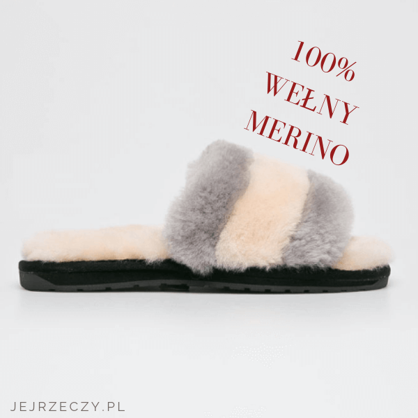 100 Naturalne Welniane Kapcie Slippers Fur Slides Slide Slipper