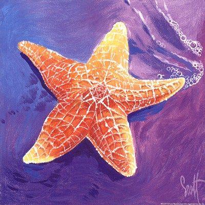 Starfish Art Starfish Art Starfish Painting Starfish Print
