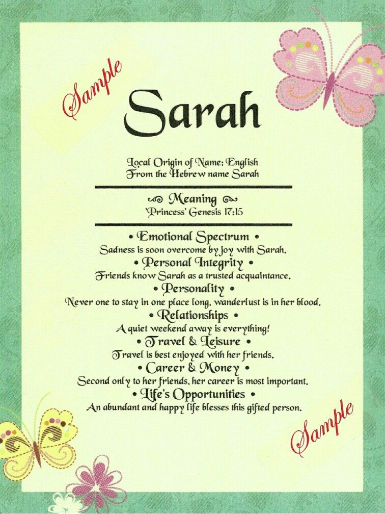 Pin by Cheryl on First Name Almanacs   Meaning of your ...