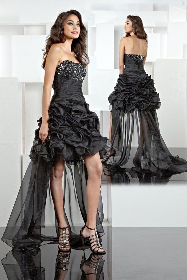 Black Wedding Dresses Gowns Bridesmaids Bridesmaid Homecoming