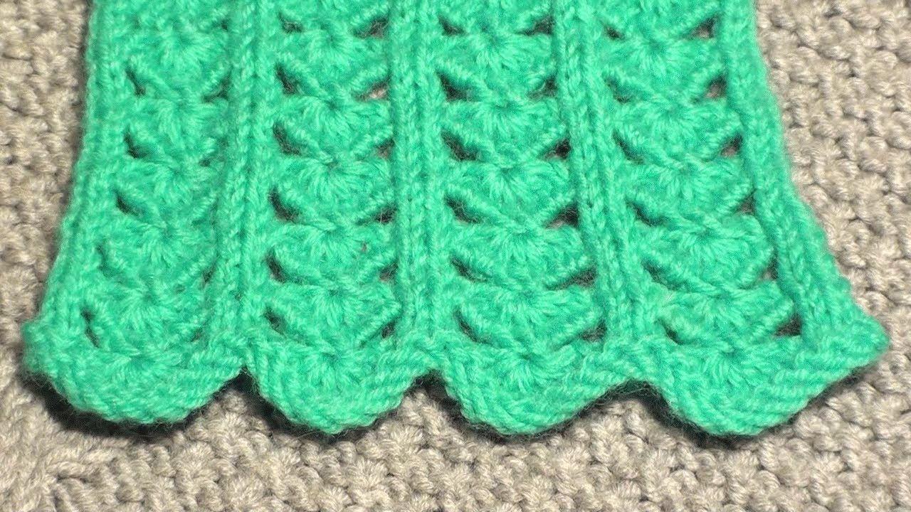 Узоры вязание спицами 94