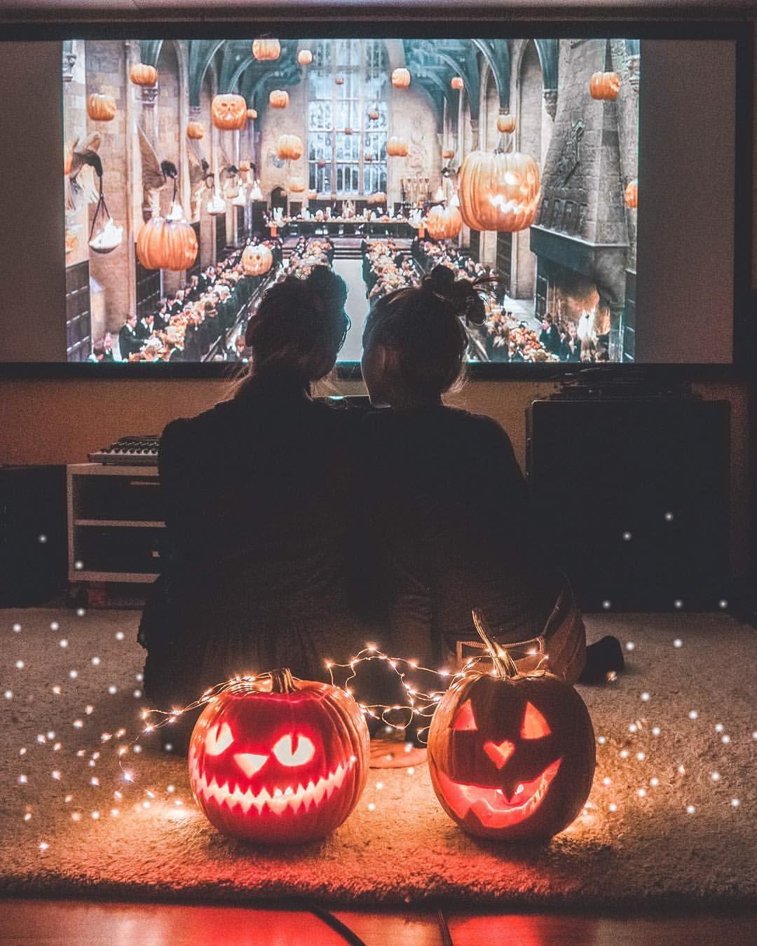Elisa Sophie Auf Instagram Movie Nights With You Are My Favorites Harrypotte Halloween Movie Night Harry Potter Movie Night Fall Halloween