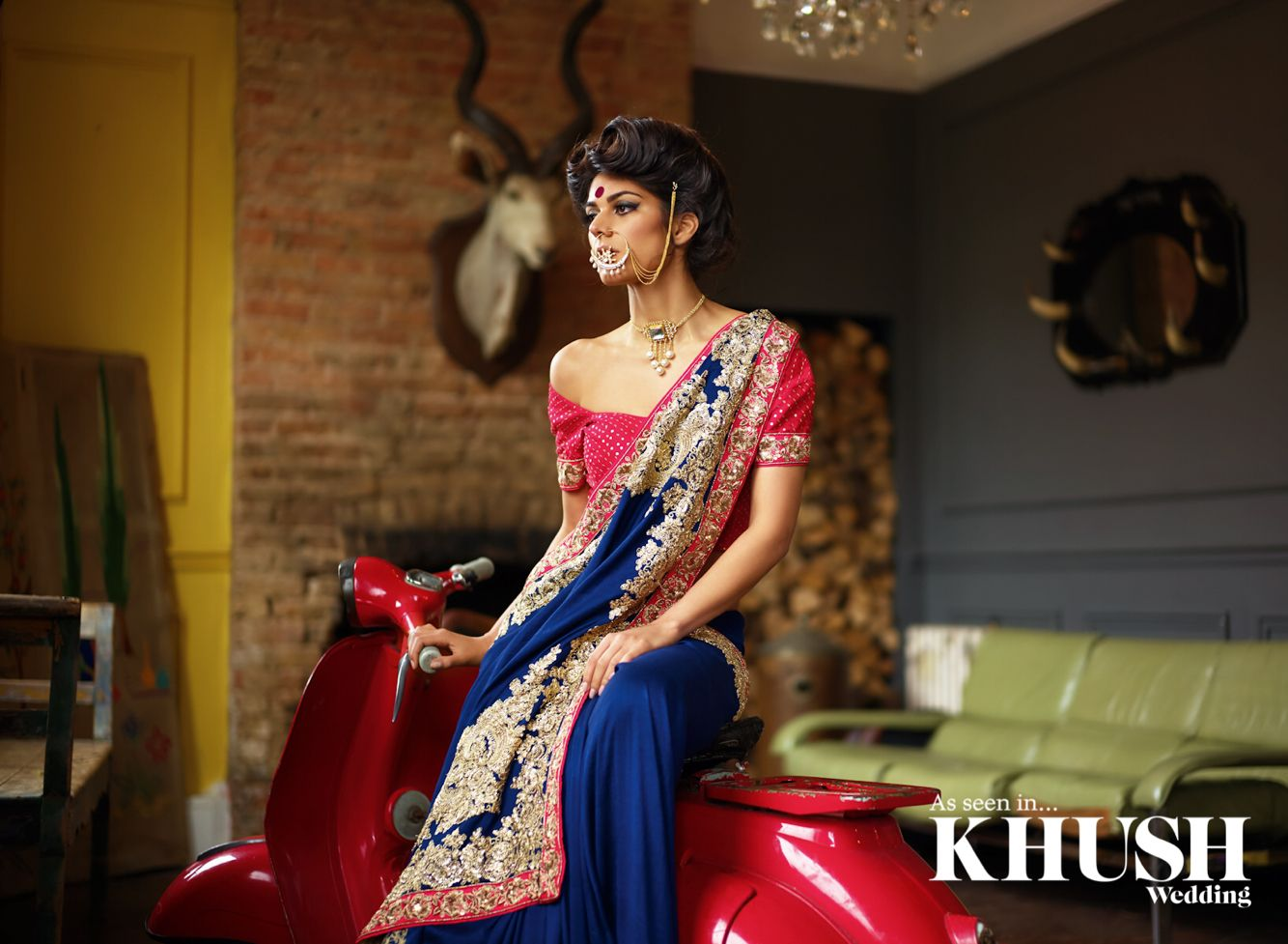 Be in style with a saree from Zarkan of London East Shopping Centre ...