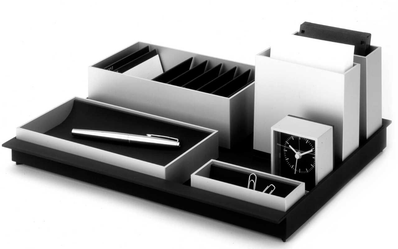 The Foster Series Of Desk Accessories For The German