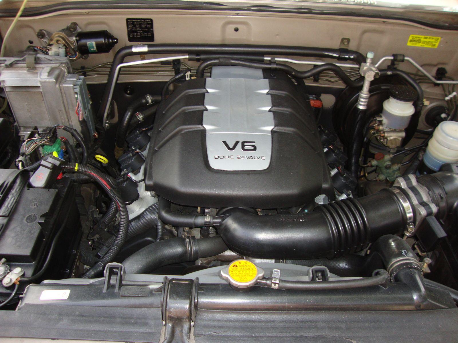 2002 isuzu trooper used engine description 3 5l 6 cyl vin x