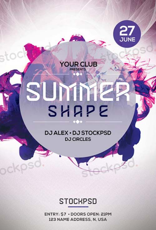 Photography Free PSD Flyer Template - http://freepsdflyer.com ...
