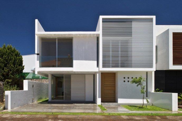35 Fachadas De Casas Minimalistas Furniture Pinterest Casa - Diseo-de-fachadas-de-casas