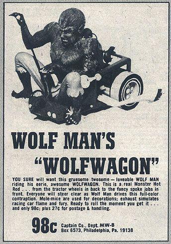 "Wolf Man's ""Wolfwagon"" Toy"