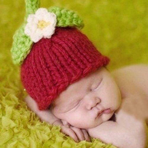 New-Handmade-Crochet-Knit-Hat-Beanie-Newborn-Baby-Cap-Costume-Photography- Prop ea564abb7180