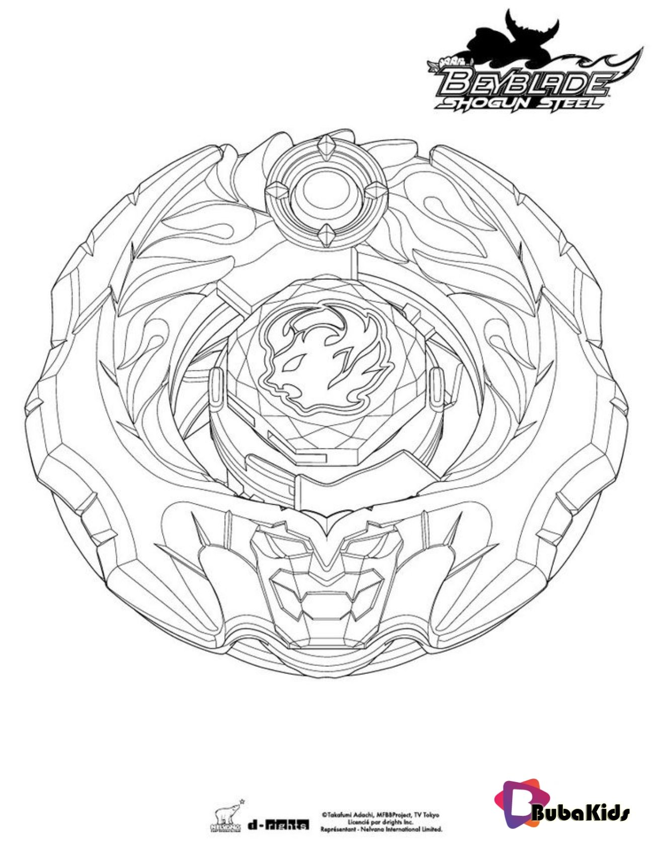 Beyblade Coloring Ifrit Page Printable Sheets Beyblade Coloring Ifrit Page Detailed Coloring Pages Pokemon Coloring Pages Cartoon Coloring Pages