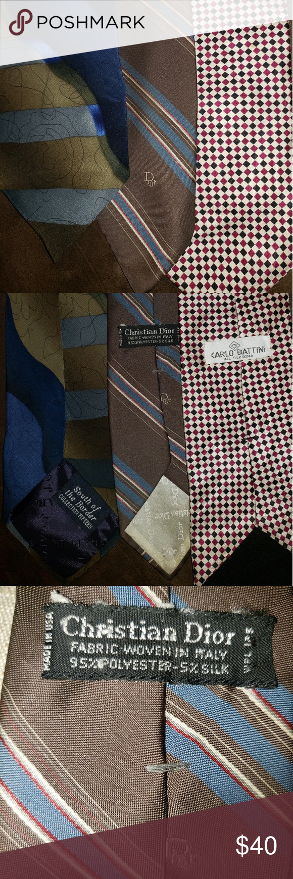 I just added this listing on Poshmark: Christian Dior Necktie.